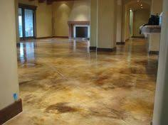 concrete floors offer a rather lovely solution for all you
