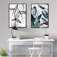 Wall Art Paintings For Living Room Leaf Wall Art Promotion Shop For Promotional Leaf Wall Art On