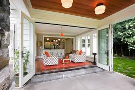 Small Back Porch Ideas by Doors Open To Back Porch On H U0026h Home Remodel Doors U0026 Windows