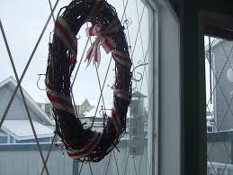 Window Decorations For Christmas by To A Pretty Life Diy Diamond Paned Windows Just In Time For