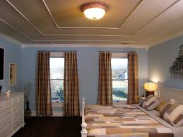 Painted Ceiling Ideas How To Create A Faux Tiered Ceiling Hgtv