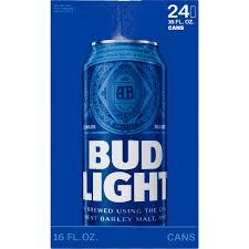 how much alcohol does bud light have bud light beer 24 pack 16 fl oz walmart com