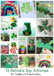 st patrick u0027s day activities for kids clare u0027s little tots