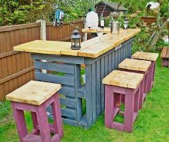 Garden Bar Ideas Diy Pallets Garden Bar Home Design Garden Architecture