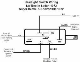 headlight switch 1971 77 vw beetle ghia and type 3 1971 72