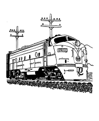 printable train coloring pages coloringstar
