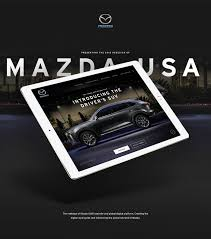 brand new mazda mazda usa ui design