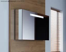 Java Designer Illuminated Mirrored Bathroom Cabinet MWLFL - Designer bathroom cabinets mirrors
