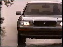 lexus ls400 1990 1990 lexus ls400 luxury sedan commercial