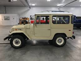 toyota fj40 land cruiser for sale 1970 toyota fj40 4 wheel classics car truck and suv sales