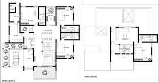 minimalist home design floor plans kerala style contemporary minimalist home design with 4 bedroom