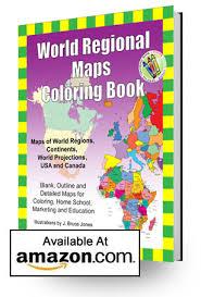 bruce jones publishing regional maps coloring book shipping