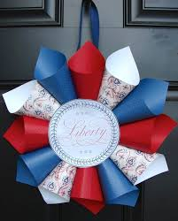 4th of july wreaths 12 patriotic diy fourth of july wreaths babble