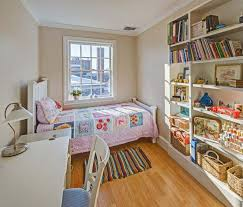 Pottery Barn Kids Bedrooms Cottage Kids Bedroom With Built In Bookshelf By Michelle Easter