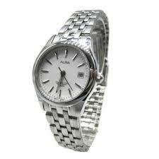 Jam Tangan Alba Putih harga alba jam tangan wanita silver putih stainless steel