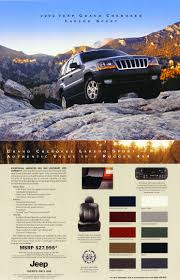 jeep grand cherokee wj brochures and manuals part 2