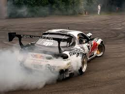 rx7 mad mike mazda rx7 drifts u0026 huge burnout u0026 sounds youtube