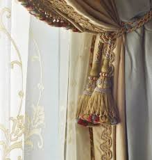 Decorative Trim For Curtains 148 Best Tassels Trims And Tiebacks Images On Pinterest