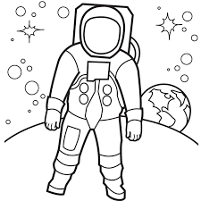 astronaut coloring pages getcoloringpages