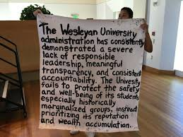 prefrosh open house a day of student protest wesleying