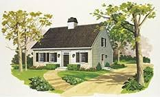 Cape Cod Style Floor Plans Cape Cod And New England Style Homes