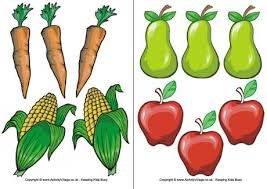 marvelous printable pictures of fruits and vegetables coloring
