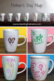 Homemade Gifts For Mom by Homemade Mother U0027s Day Mugs Homemade Dollar Stores And Craft