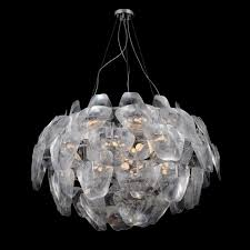 Clear Acrylic Chandelier Azzardo 3d Large Clear Acrylic Pendant Light Chandelier