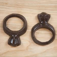chocolate wedding rings engagement wedding rings chocolate mold by of the diy