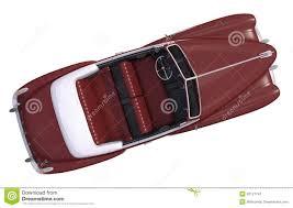 brown oldtimer car top view stock illustration image 42121741