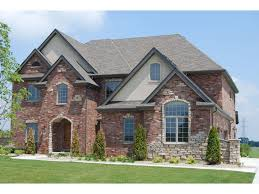 nice simple design exterior stone homes that has small modern