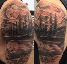 50 sleeve mountain tattoos