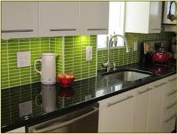 home design green subway tile backsplash kitchen patterns gray