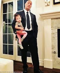 dwayne johnson reveals goals for toddler daughter jasmine daily