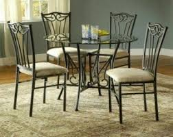 Round Glass Table Tops by 42 Round Glass Top Dining Table Sets Foter