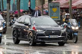 yeni lexus jeep ds7 crossback suv new french president macron has first dibs by