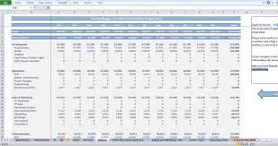 it startup budget template cfotemplates com