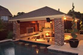 Luxury Backyard Designs Traditional Patio Design With Sparkling Lights For Luxury Backyard