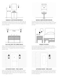 Mirror Height Bathroom Spectacular Bathroom Mirror Height 78 As Well House Plan With