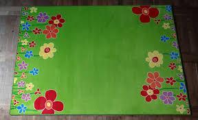 teppich kinderzimmer amazon de kinderteppich blumenwiese 200 x 300 cm
