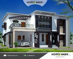 Home Design Modern Style by Contemporary House Designs Sqfeet 4 Bedroom Villa Design Modern