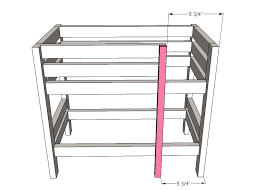 Free Loft Bed Woodworking Plans by Ana White Doll Bunk Beds For American Doll And 18