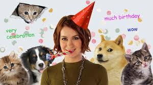Geek Birthday Meme - happy birthday felicia day love geek sundry geek and sundry