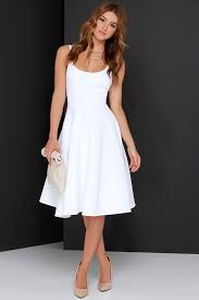 white dress sweet confection ivory midi dress midi dresses classic white