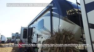 Keystone Floor Plans by Keystone Alpine 5th Wheel 3400rs Youtube