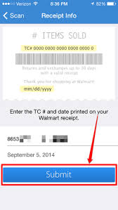 how to enter receipts for walmart u0027s savings catcher program on the