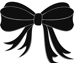 black and white ribbon black bow ribbon clip at clker vector clip online