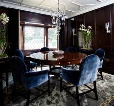 Mustard Dining Chairs by Dining Room Good Dining Room Design Ideas With Round Wood Dwell