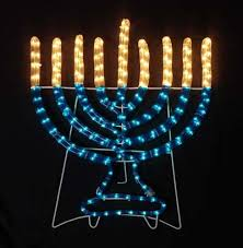 small menorah hanukkah decorations small indoor outdoor electric menorah