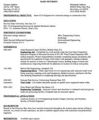 sample resume civil engineer australia civil structural engineer